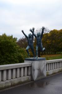 Une sculpture de Gustav V